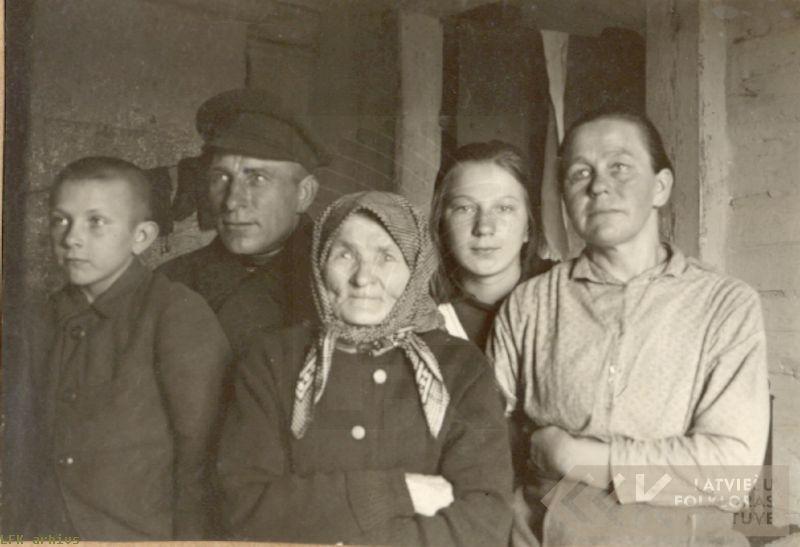 The Akmentiņš family