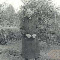 Folk narrator Lība Henzele