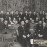 Folklorists Boriss Infantjevs konferencē