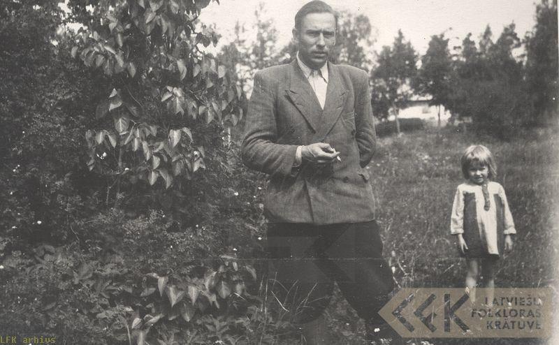 Teicējs Jānis Matuss Skaistkalnē