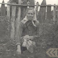 Folk narrator Anna Zvejniece