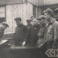 Bauska industrial factory workers and folklorist Jānis Alberts Jansons