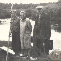 Jānis Rozenbergs, Ilga Vandere un Gustavs Grīnvalds
