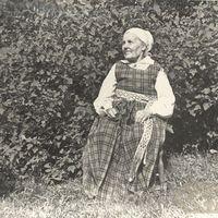 Folk narrator Jūlija Freimane