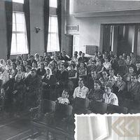 Klausītāju zālē