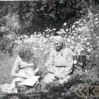 Folkloriste Mirdza Asare un teicēja Marija Leitāne