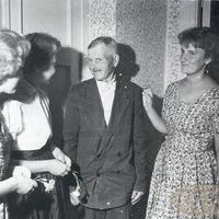 Folkloristes Jadviga Rudziša un Maija Rudzīte