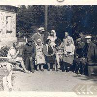 Teicēji un folkloras vācēji Dundagā