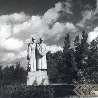 Piemineklis padomju karavīriem Dobelē