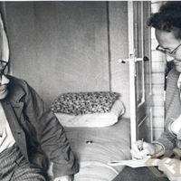 Teicējs Jēkabs Strautmanis un ekspedīcijas vadītāja Alma Ancelāne