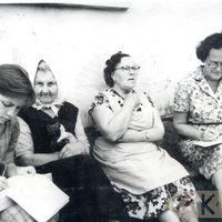 Folkloristes Ruta Skudra, Alma Ancelāne un teicējas Made Blūma, Alma Razdovska