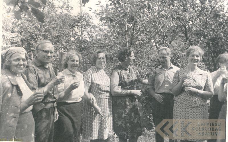Igauņu folklorista Eduarda Laugastes mājās Tartu
