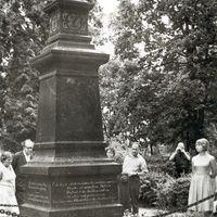 Komponista Jāņa Cimzes kaps