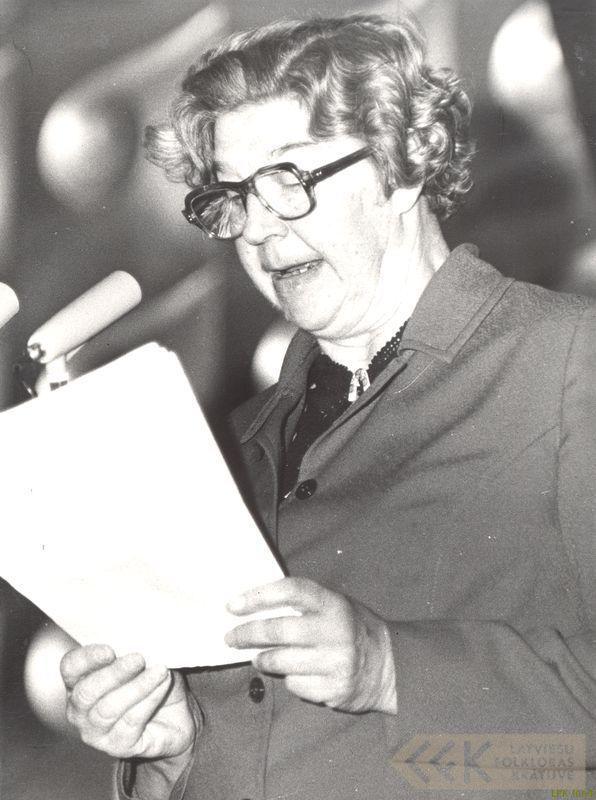 Folkloriste Elza Kokare