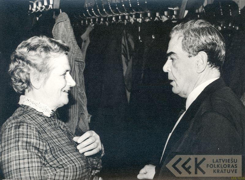 Ausma Infantjeva un Boris Infantjevs