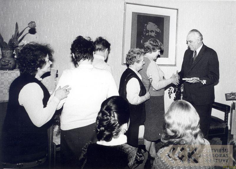 Folklorista Ojāra Ambaiņa jubilejas svinības