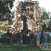Limbaži castle ruins