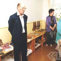 Kolkas līvu centra vadītājs Guntars Bertholds stāsta par lībiešiem
