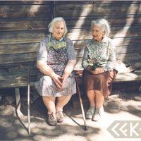 Elza Liepiņa un Lidija Liepiņa