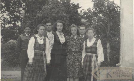 Dance group of Rite village