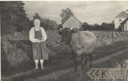 The folklore informant Betija Dzene