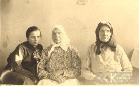 Barkavas pagasta dziedātājas