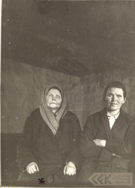 The folklore informant Petruļa Buļs