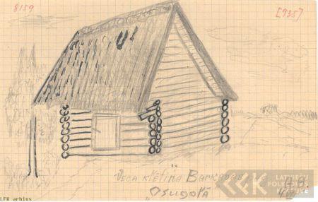 Barn ir Barkava village