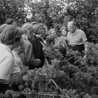 In garden of Marija Galeviusa