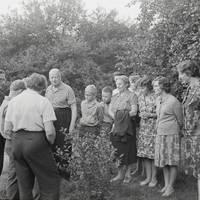Marijas Galeviusas dārzā