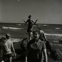 Ekspedīcijas dalībnieki Peipusa ezera krastā