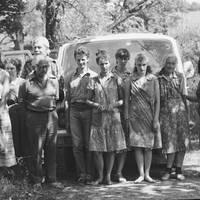 Folkloras ekspedīcijas dalībnieki