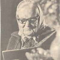 The folklore informant Emma Buruce