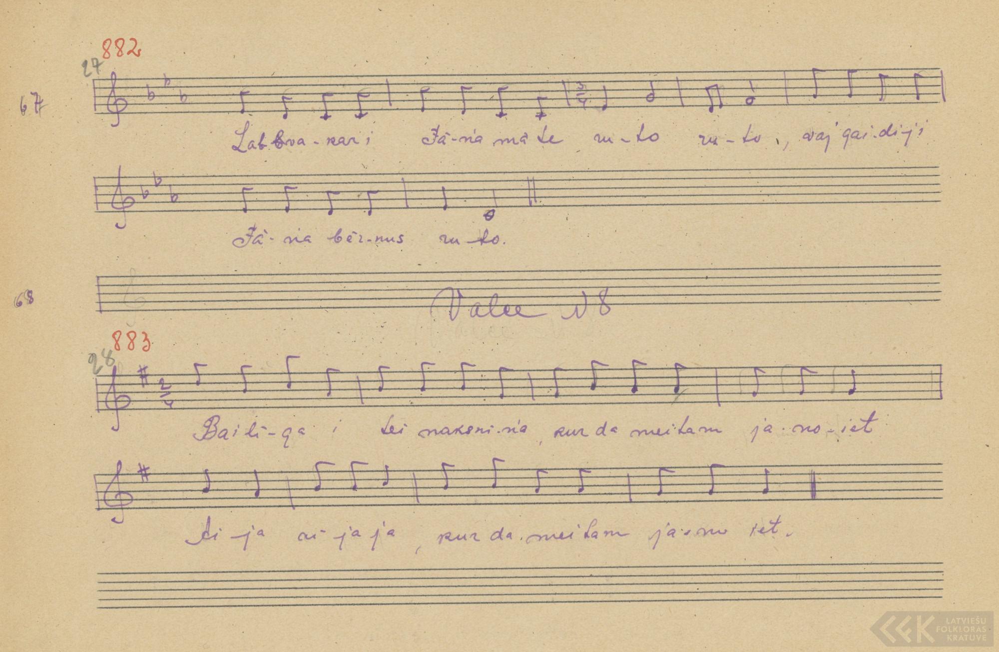 Lobvokori, Juoņa muote (1927)