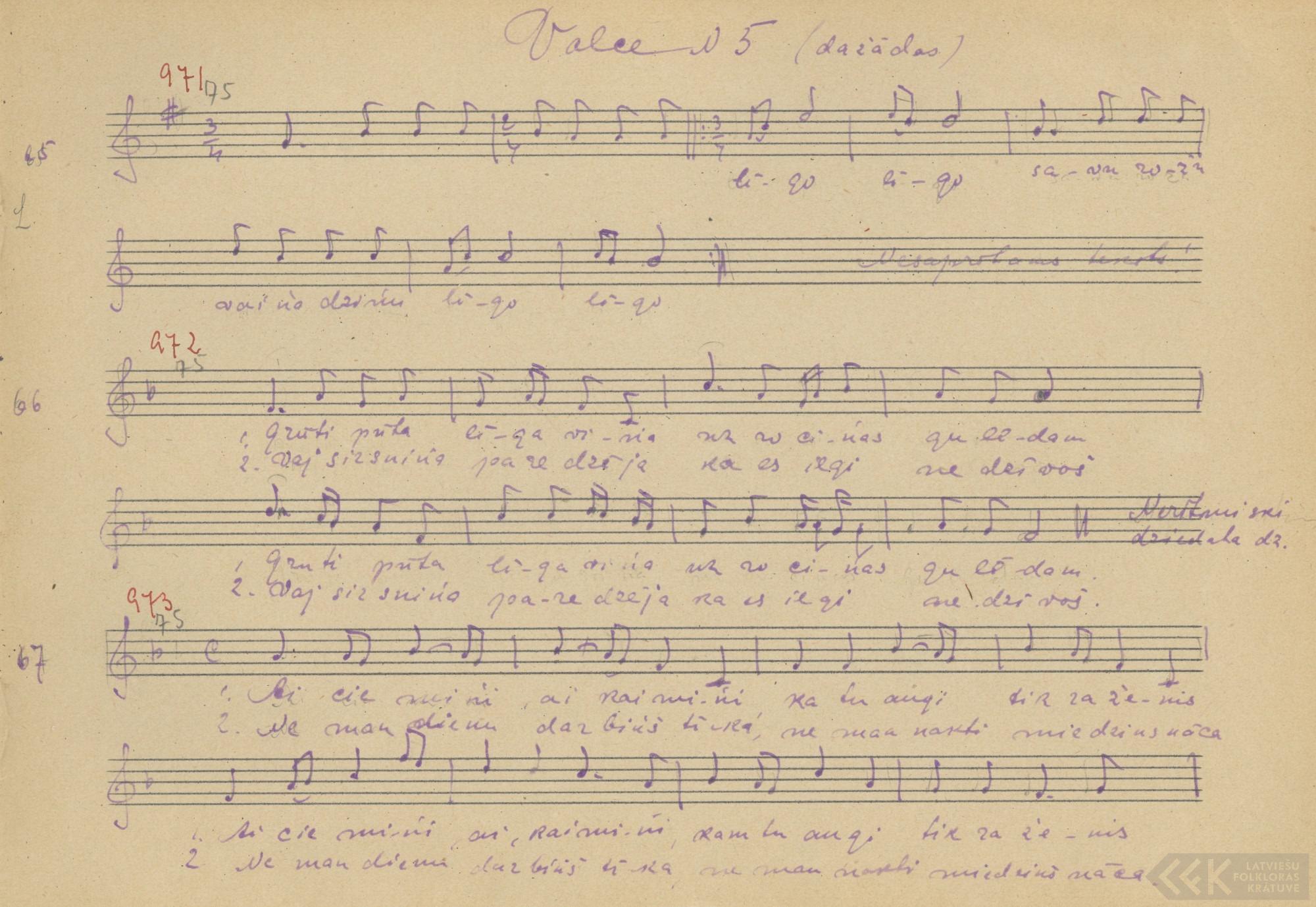 Līgo dziesma (1927)