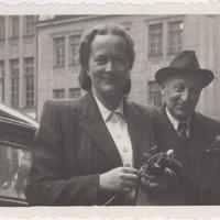 Ekspedīcijas dalībnieki Alma Ancelāne un Pēteris Birkerts