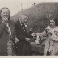 Ekspedīcijas dalībnieki Alma Ancelāne, Pēteris Birkerts un Austra Alksnīte