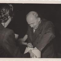 Ekspedīcijas dalībnieki Jēkabs Vītoliņš un Alma Ancelāne