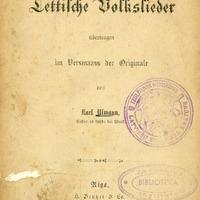 100131-0v02-Lettische-Volkslieder