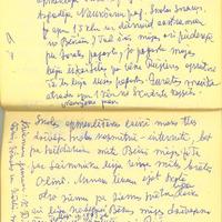 10. nodaļa. Mana tēva agrākā dzīves vieta Ternejas (agrāk Juratas) Kalndīriķos (4 km no Rūjienas)