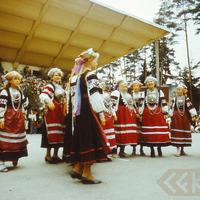 "Folkloras festivālā ""Baltica"""