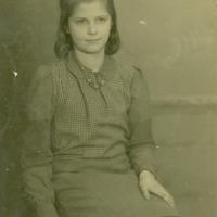 Ērika Jurča Rīgā 1943. gadā