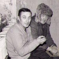 Alfrēds Baltbārdis ar dēlu Ojāru