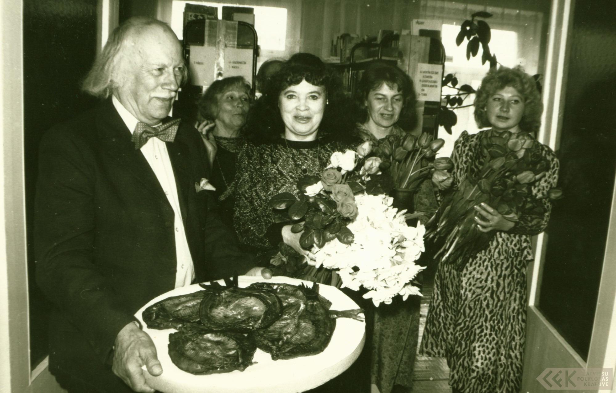 Lija Blūma un Alfrēds Krūklis