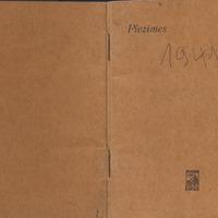 Kaspara Irbes dienasgrāmatas