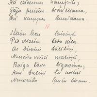 Bernharda Kasara folkloras vākums