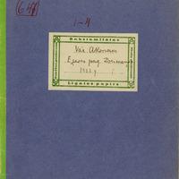 Alekša Korsaka folkloras vākums