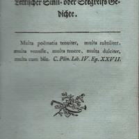 Otrais latviešu epigrammu un gudrību krājums