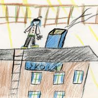 Ilustrācija dzejolim par darbu