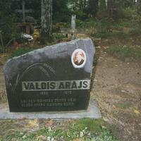 Valda Arāja kapa vieta